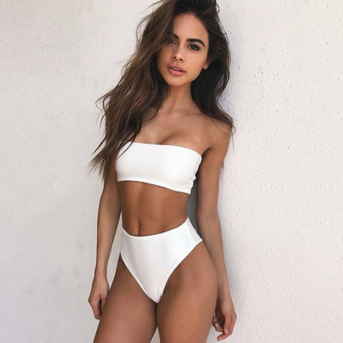 Bandeau Swimsuit Set | 11 Cute Swimsuits So Instagram-Worthy, You .