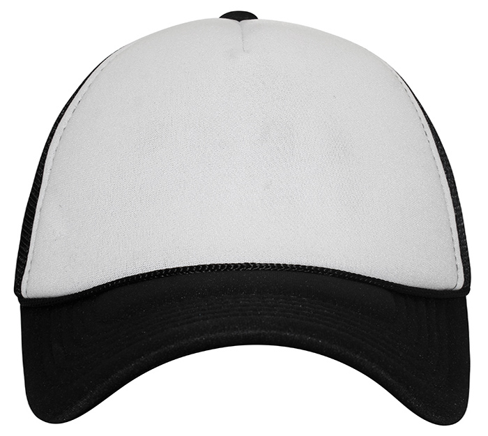 TRC4352-5 Panel Plain Polyester Structured Form Front Baseball Cap .