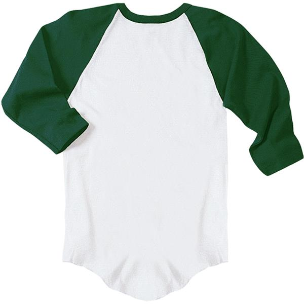 VKM Adult Youth Long Sleeve 3/4 Baseball Tees | Epic Sports Outl