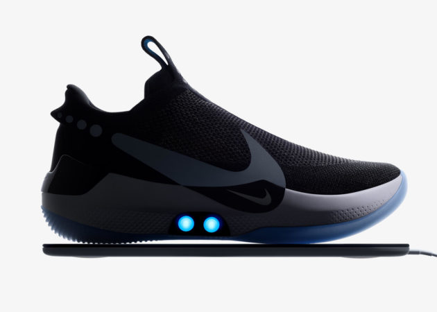 Nike unveils new self-lacing basketball shoes controlled by a .