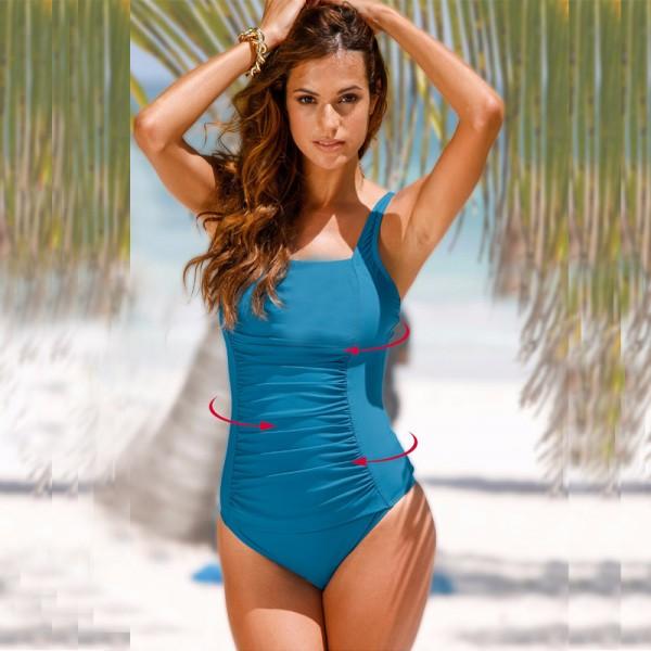 Buy 2018 New One Piece Swimsuit Women Plus Size Swimwear Large .