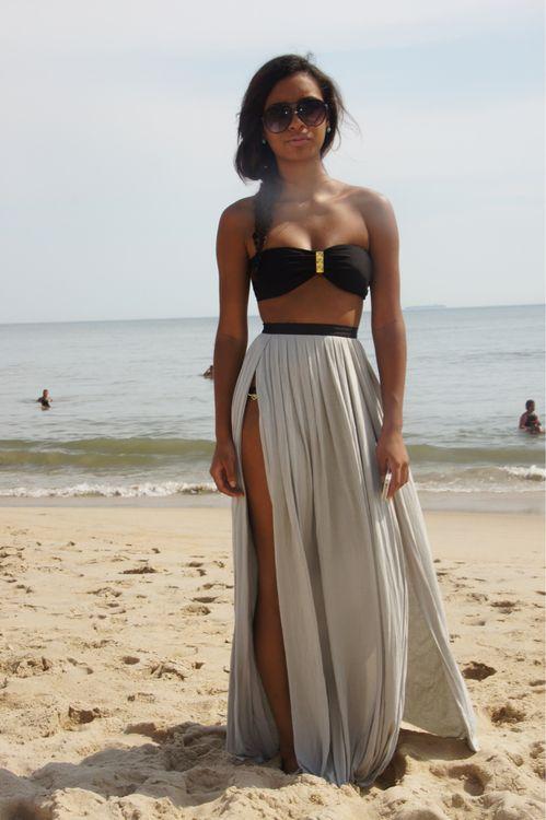 beautiful beach wear