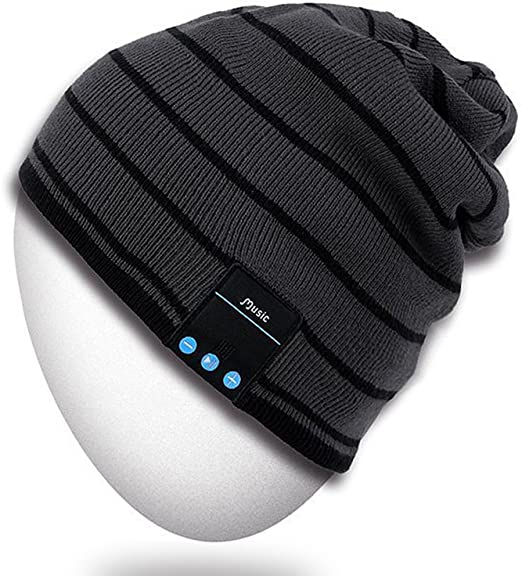 Amazon.com : Rotibox Bluetooth Beanie Hat Wireless Headphone for .