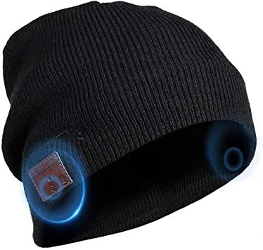 Amazon.com: Bluetooth Beanie Hat Headphones Headset, Wireless .