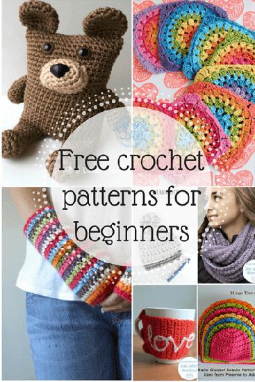 Free crochet patterns for beginne