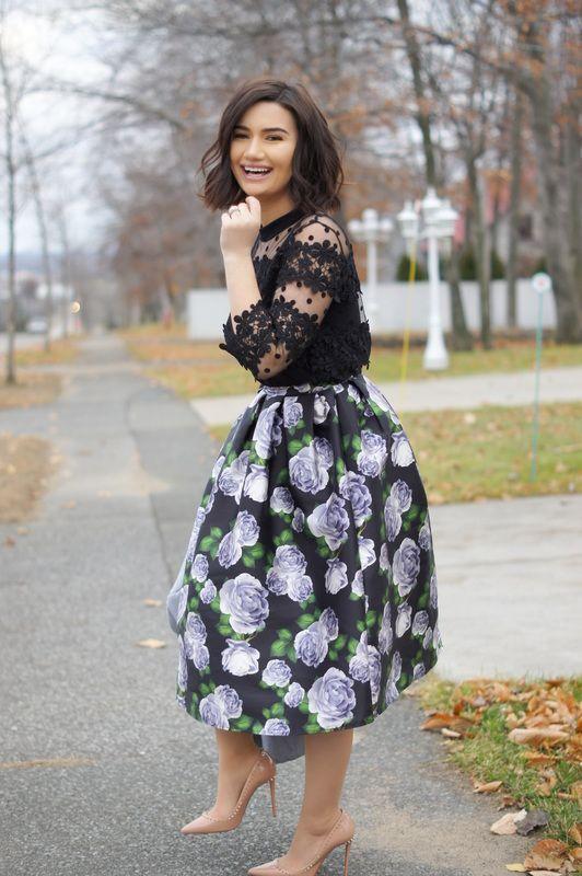 Priscilla Ventura Sunday best outfit ideas @chicwish Christian .