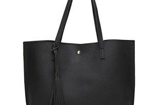 Black Handbags and Totes: Amazon.c