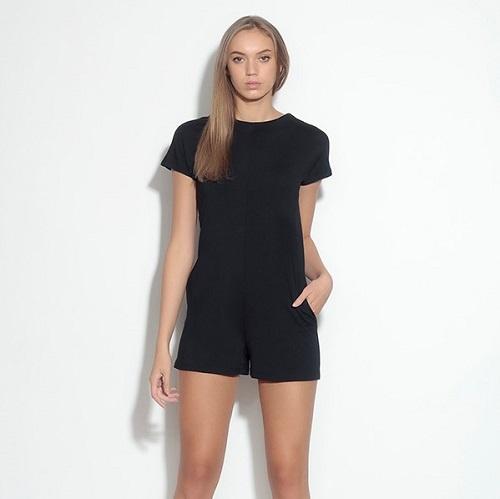 Cap Sleeve Short Jumper   Black - ADORN - Home   Lifestyle   Gifts .