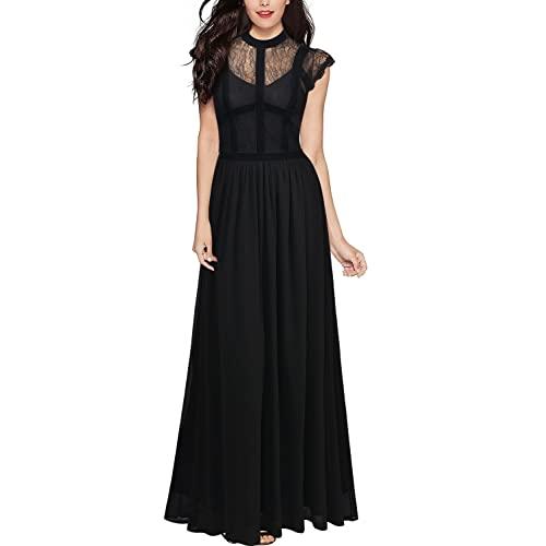 Black Lace Maxi Dress: Amazon.c