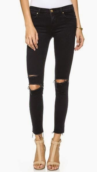 Life and Lovely : DIY Ripped Skinny Black Jeans | Diy ripped jeans .