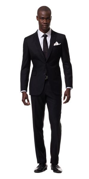Black Suit - Mens Suits | Black Lap