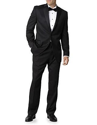 Madison Black Classic Fit Tuxedo Jacket | be