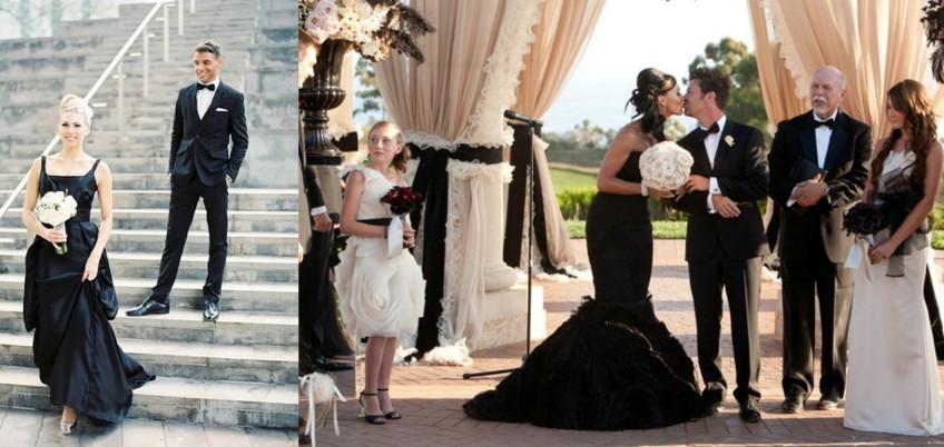 Black Wedding Dress - Would You Dare to Wear? - Sirmione Weddi