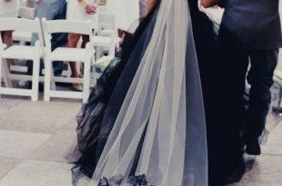 50 Beautiful Black Wedding Dresses You Will Love | Halloween .