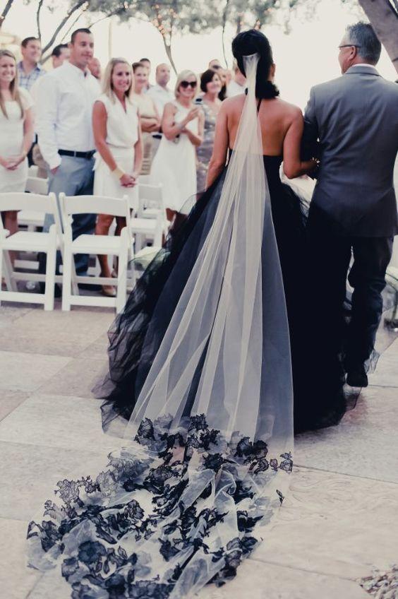 Black Wedding Dresses