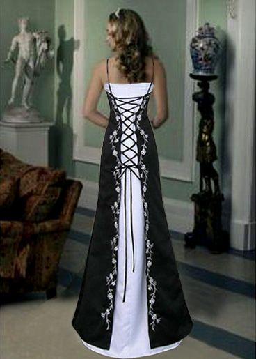 Wedding Dresses Design With Black Corset | Black wedding dresses .