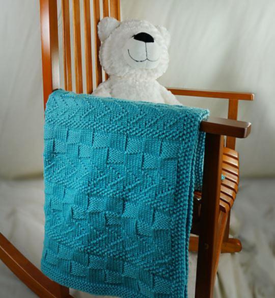 Free free textured blanket knitting patterns Patterns ⋆ Knitting .