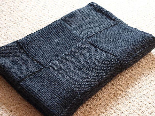 The Stylish Square blanket pattern by Susan Hanlon - Free Ravelry .
