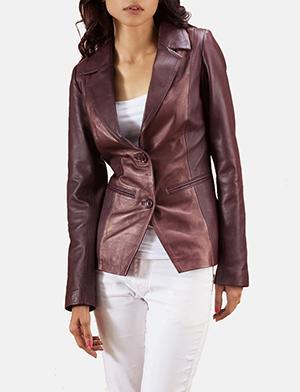 Women's Leather Blazers - Buy Leather Blazers For Wom