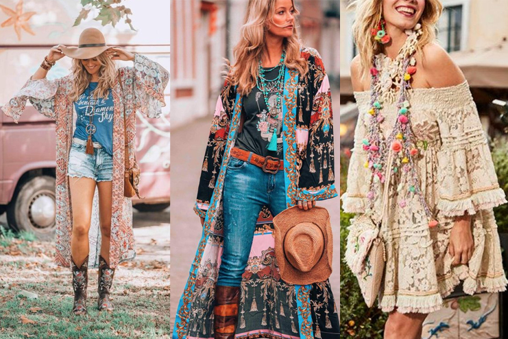 8 Flattering Boho Chic Style Outfits- Go Sassy and Clas
