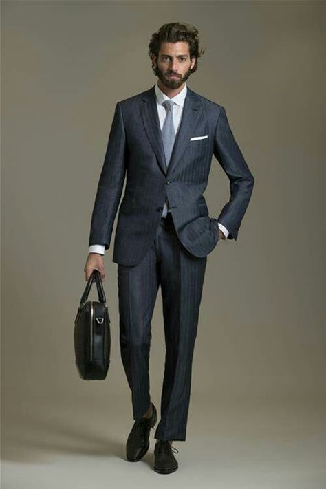 Brioni Suit is really expensive... But whatever, to look this good .