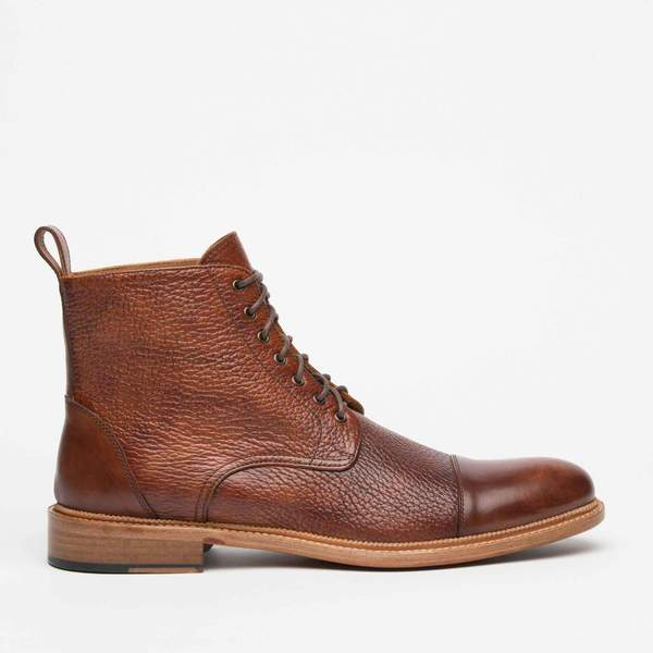 The Rome Boot in Brown - Men's Leather Boot – TA