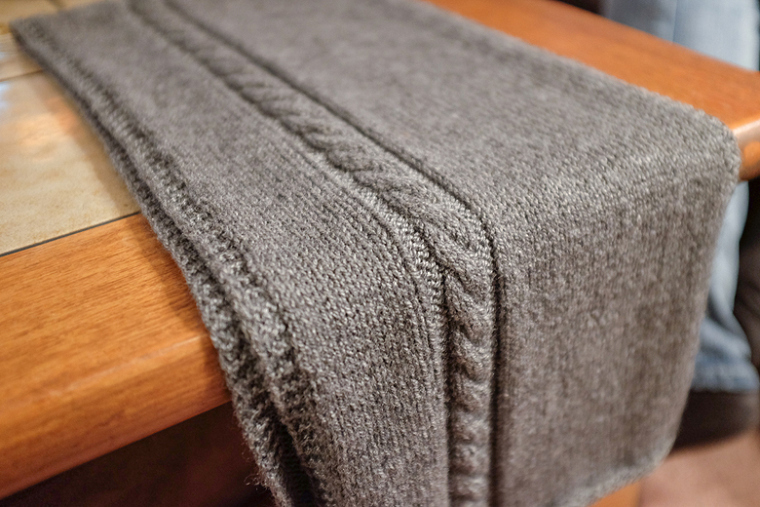 Travel Knit Scarf | AllFreeKnitting.c
