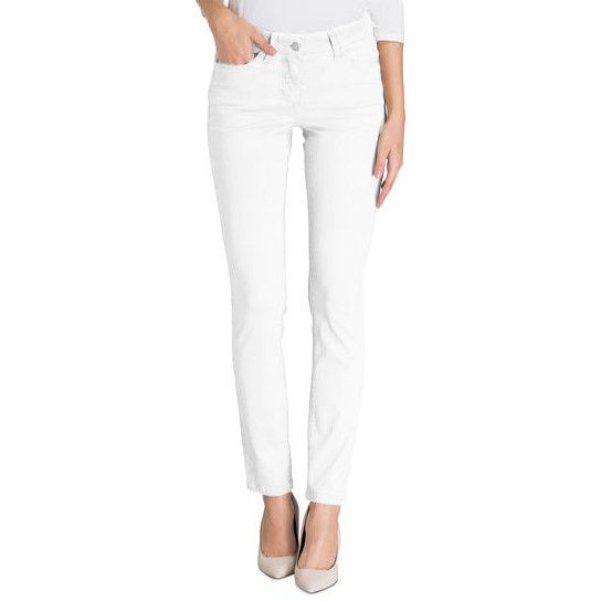 Cambio Parla Jeans - White - Pomegranate La Jol