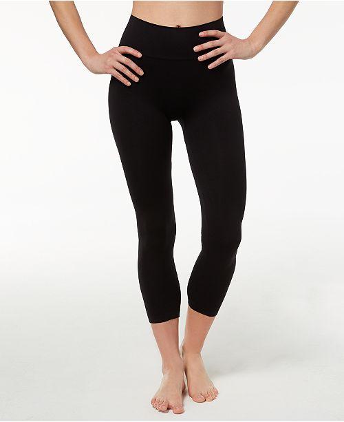 Hanes Women's Perfect Bodywear Seamless Capri Leggings & Reviews .
