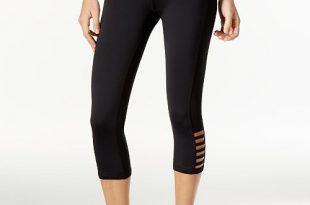 Ideology Capri Leggings, Created for Macy's & Reviews - Pants .