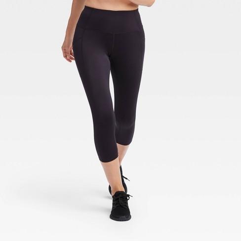 """Women's Sculpted High-Rise Capri Leggings 21"""" - All In Motion ."""
