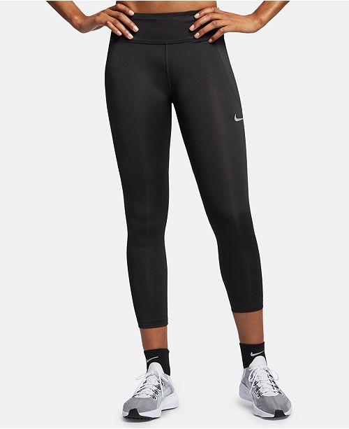 Nike Women's Fast Capri Leggings & Reviews - Women - Macy