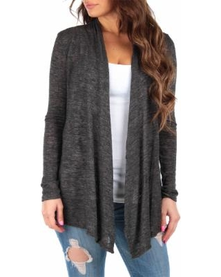 79% Off California Trading Group Women's Cardigans 1 - Coffee .