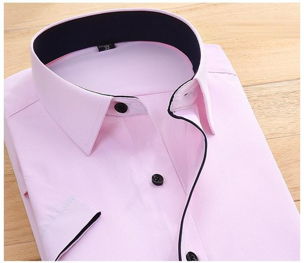 Casual Pink Shirt For Men