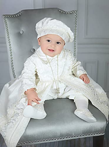 Amazon.com: Baby Boy Christening Gown, Spanish Style outfit .