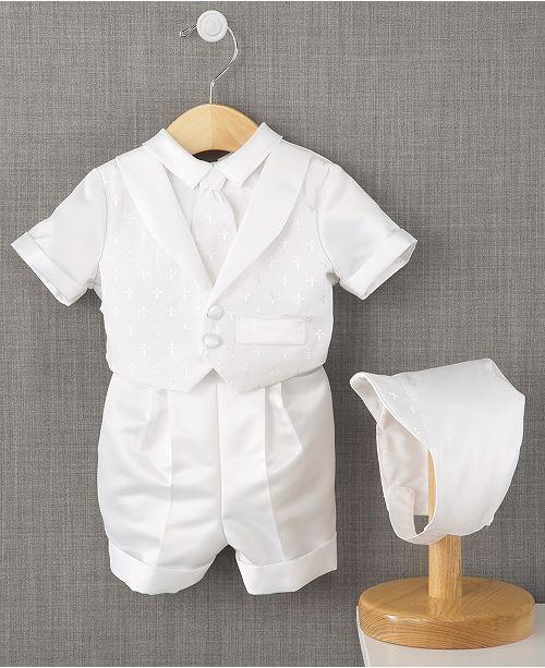 Lauren Madison Baby Boys Cross Dobby Christening Suit & Reviews .