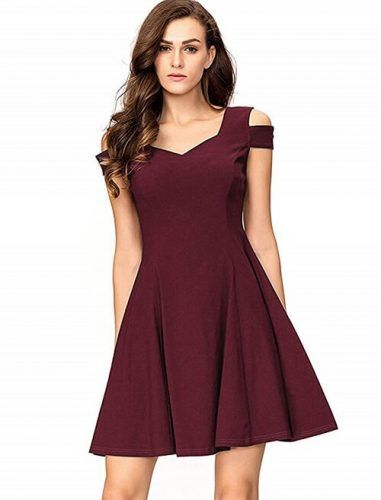 Top 15 Red Christmas Party Dresses | Dresses for teens, Cute short .