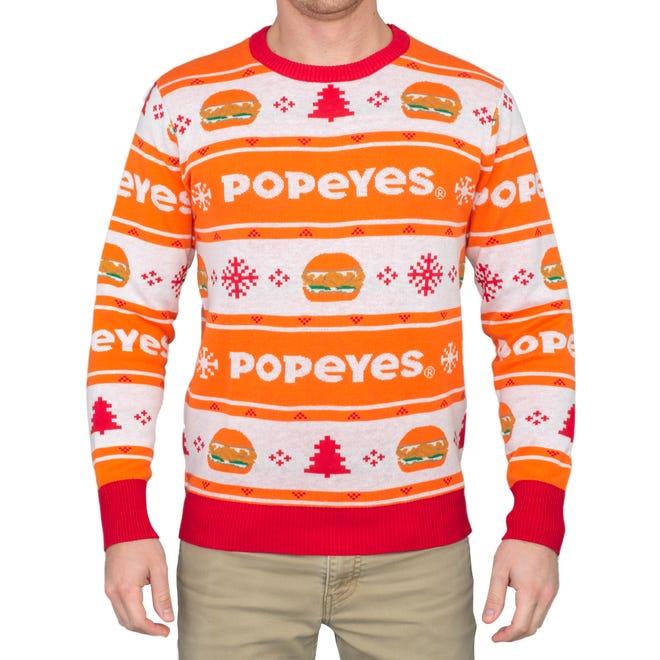 Popeyes Chicken Sandwich War: Ugly Christmas sweaters launch Wednesd