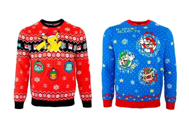 Nintendo Official Christmas Sweaters Release | HYPEBEA