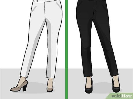 4 Ways to Wear Cigarette Pants - wikiH