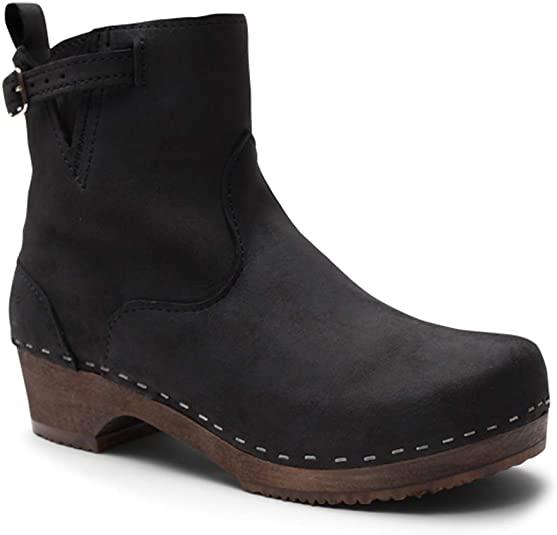 Amazon.com | Sandgrens Swedish Handade Wooden Clog Boots .