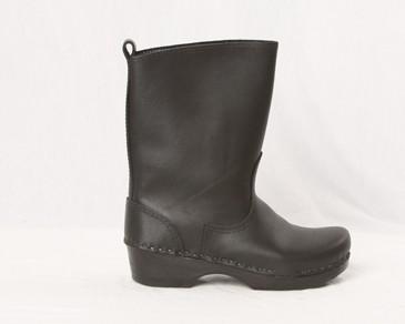 "Men's 8"" All Leather Boot Clog | Clog Boots, Nurses Clogs | Sven ."