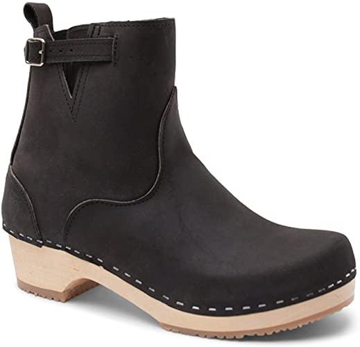Amazon.com | Sandgrens Swedish Handmade Wooden Clog Boots | New .