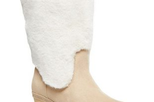 Madden Girl Sanza Faux-Fur Clog Boots & Reviews - Boots & Booties .