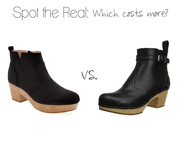 Spot the Real: Swedish Hasbeens Clog Boots - The Budget Babe .