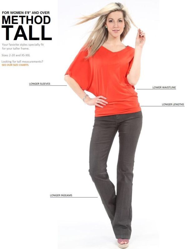 Style Tip For Tall Women | Tall women fashion, Clothing for tall .