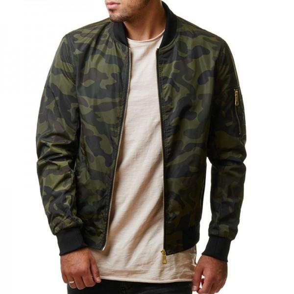 Buy Spring Autumn Casual Men Camo Jacket Army Military Jacket .
