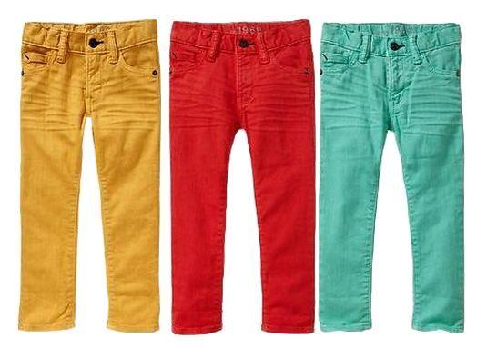 GAP skinny colored jeans | Baby boy fashion, Boy fashi