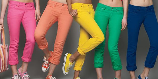 Catoura : Colorful Jeans Are Back For Spri