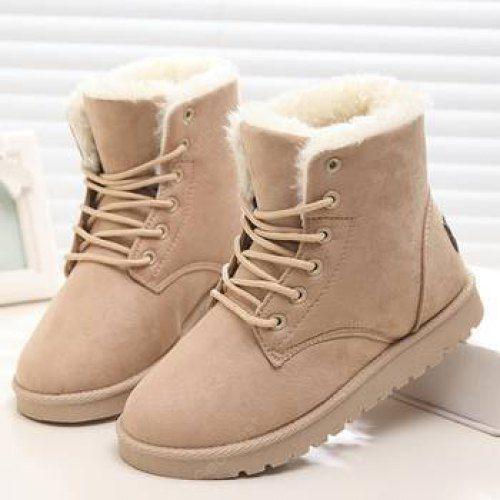 Warm Snow Boots Ankle Comfy Shoes with Fur Sale, Price & Reviews .
